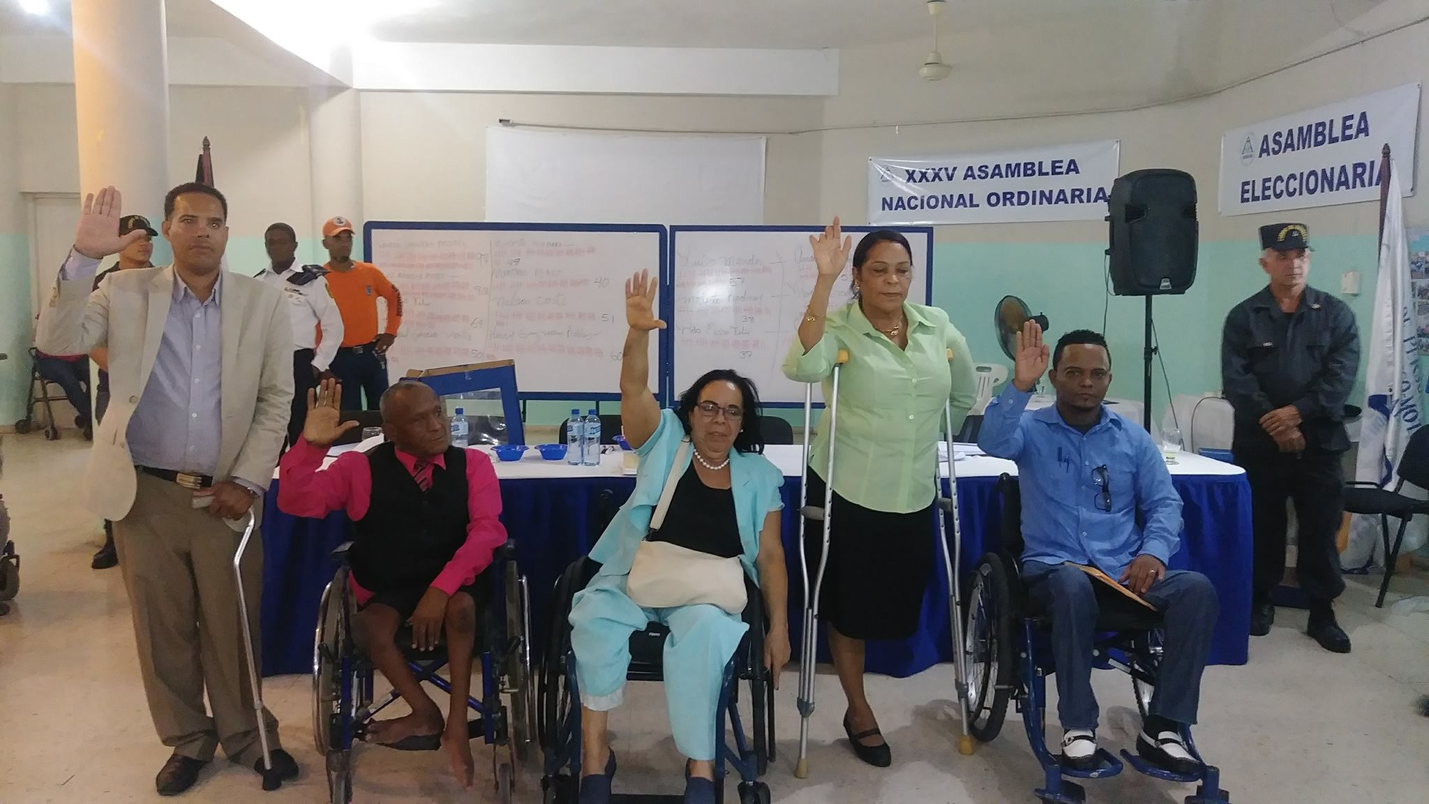 Asamblea Eleccionaria para el período 2018-2021.