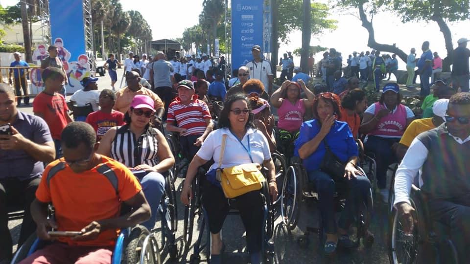 Caminata de la Inclusión para las Personas con Discapacidad