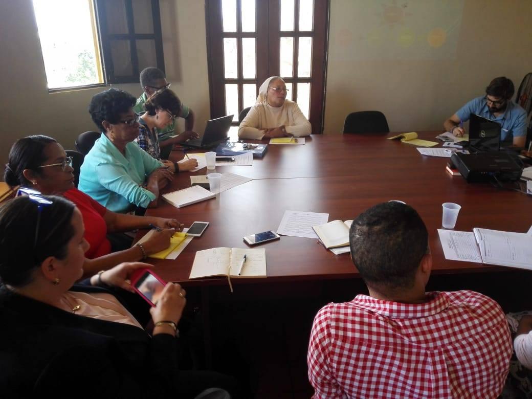 Reunión del Equipo Coordinador Ampliado de RANDIS.