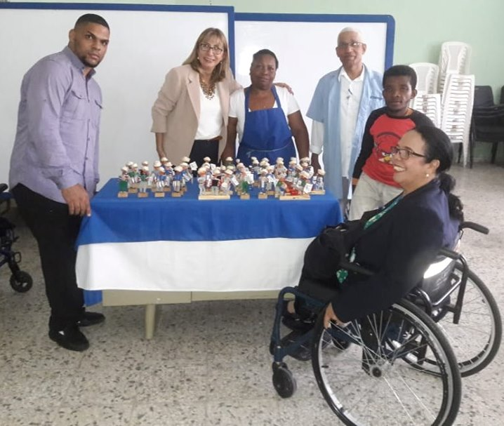 Reunión con Yolanda Araceli Azuara Ferreiro, representante de la Oficina de la Secretaría General de la OEA en República Dominicana.