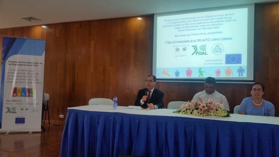 2do día del Curso Taller: «Formación de Líderes de ONGs de Personas con Discapacidad en Políticas Públicas»