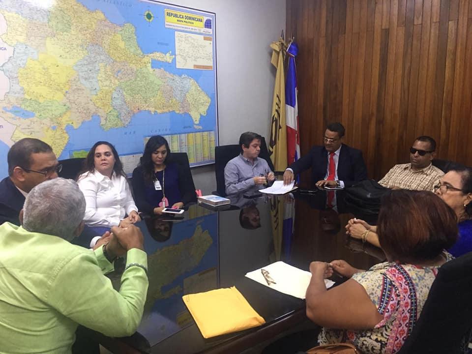 Reunión con el Director Nacional de Elecciones de la Junta Central Electoral-JCE