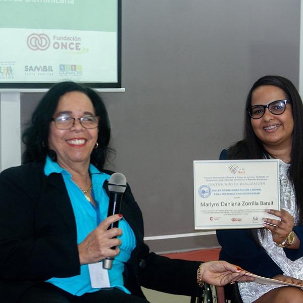 Acto de Cierre del Proyecto: «Promoviendo el Derecho al Trabajo de Jóvenes y Adultos/as con Discapacidad desde la Equidad de Género, en República Dominicana»