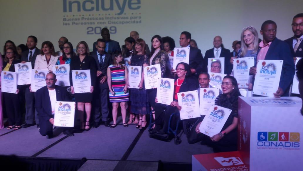 Sello RD Incluye 2019, en su 3era Edición,  premia ASODIFIMO, Categoría Plata, sobre Buenas Prácticas Inclusivas para las Personas con Discapacidad.
