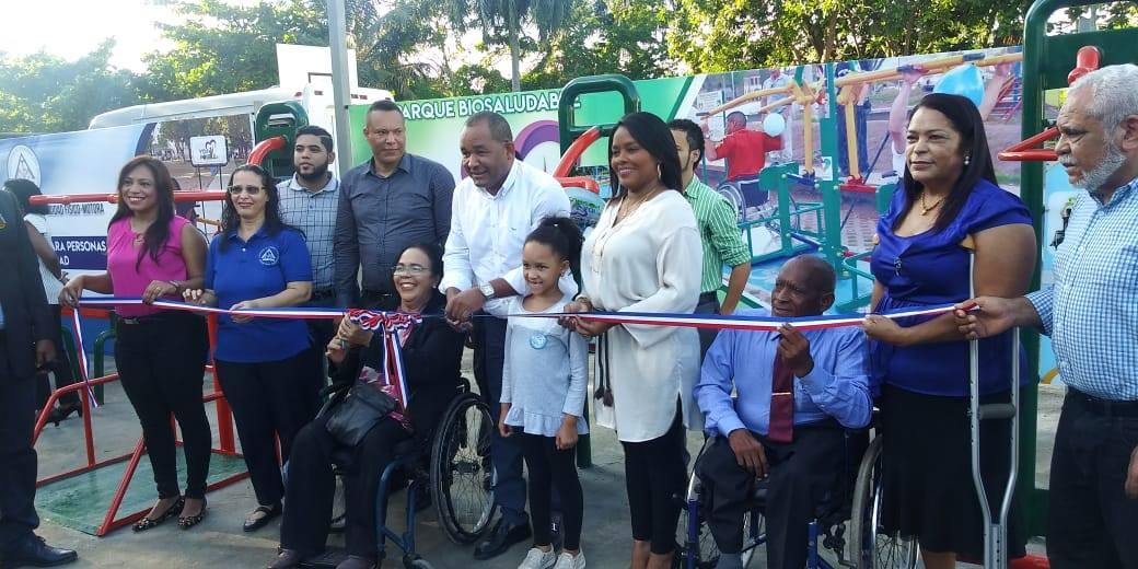 Inauguración Parque Biosaludable para Personas con Discapacidad