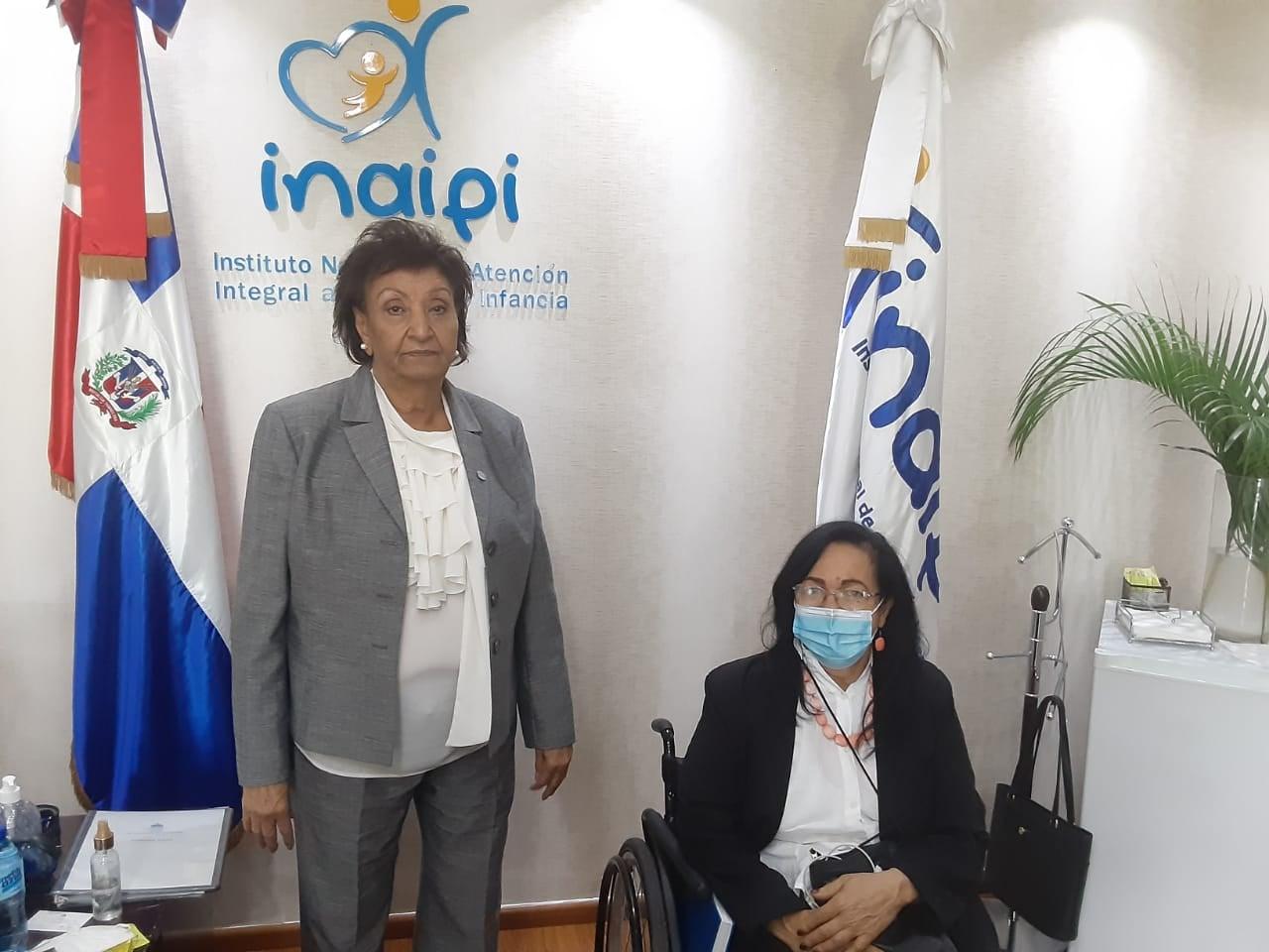 Reunión con la Directora Ejecutiva del Instituto Nacional del Atención Integral a la Primera Infancia (INAIPI)
