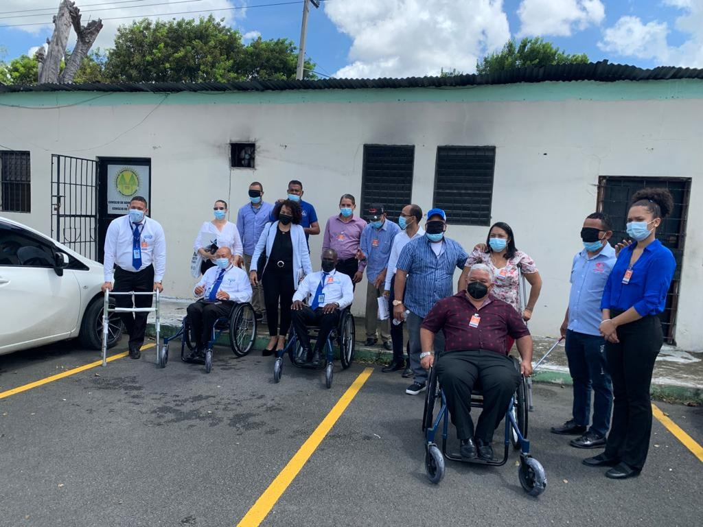 """ASODIFIMO junto a DOMINICAN ACCESS y el INTRANT sensibilizan sobre Inclusión de las Personas con Discapacidad en el transporte y la Terminología apropiada para referirse a las personas con discapacidad."""""""
